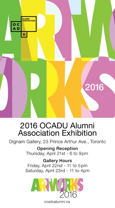 Marta Baricsa OCADU exhibition in Toronto 2016