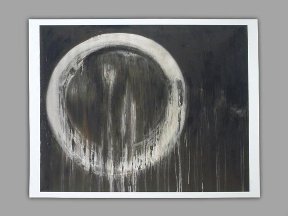 Marta Baricsa print of Untitled, 6, 2004 painting as seen in Continuum TV series